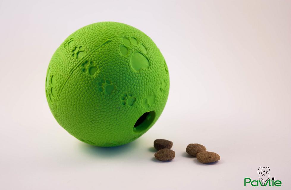 Hunde Intelligenzspielzeug – Ball mit Leckerlis